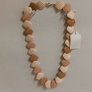 """Jewelry - Vintage Square Lucite Necklace 20"""""""